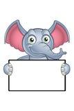 Elephant Cartoon Character Royalty Free Stock Image
