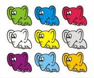 Elephant cartoon Royalty Free Stock Image