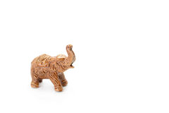 Elephant Ceramic on white background Stock Photography