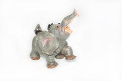 Elephant from ceramics Stock Photos