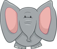 Elephant character cartoon Royalty Free Stock Image