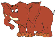 Elephant ( clip-art) Royalty Free Stock Photography