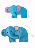 Elephant craft, accessory Royalty Free Stock Photography