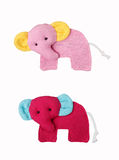 Elephant craft, accessory Royalty Free Stock Images