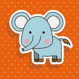 Elephant design Stock Image