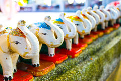 Elephant doll. In Prompthep cape in Phuket, Thailand Royalty Free Stock Photography