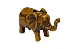 Elephant doll. Elephant wooden doll from thai Stock Images