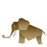 Elephant drawing royalty free stock image