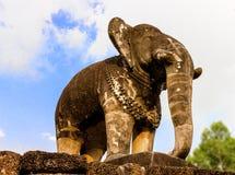 Elephant a Eastern Mebon temple royalty free stock photos