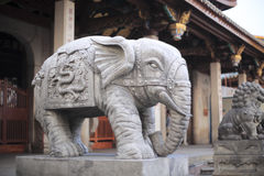 Elephant entrance of nanputuo temple Royalty Free Stock Photos