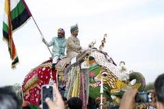Elephant Festival, Jaipur, India Stock Photography