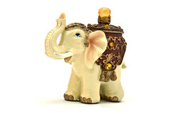 Elephant figurine Royalty Free Stock Photo