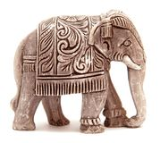 Elephant figurine Royalty Free Stock Images