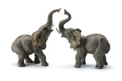 Elephant Figurines Stock Photo