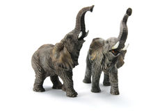 Elephant Figurines Stock Photography