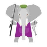 Elephant fisher Royalty Free Stock Photos