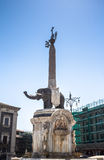 Elephant fountain in Catania, Sicily Stock Photo