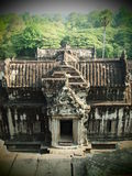 The Elephant Gate of Angkor Wat Royalty Free Stock Photo