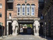 Elephant Gate Royalty Free Stock Photography