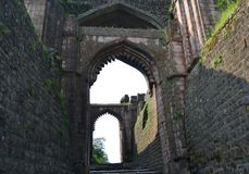 Elephant Gate of Mandav Fort City India Royalty Free Stock Images