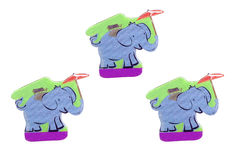 An elephant gift from thailand. Stock Images