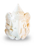 Elephant God ivory sculpture Royalty Free Stock Photos