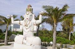 Elephant goddess rules Stock Photos