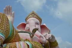 Elephant head god in pink Royalty Free Stock Photos