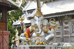 The elephant head god at Wat Sri Supan, Chiangmai, Thailand. Stock Photography