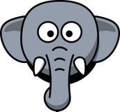Elephant, Head, Stupid, Cartoon Stock Images