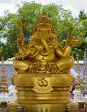 Elephant - headed god monk Royalty Free Stock Photography