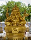 Elephant - headed god monk Stock Photos