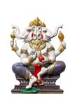 Elephant - headed god in temple Royalty Free Stock Photo
