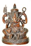 Elephant Headed Hindu Deity Stock Photography