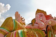 Elephant hindu statue ganesha Stock Photos