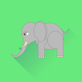 Elephant Icon Royalty Free Stock Photography