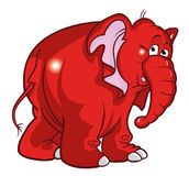 Elephant illustration Stock Image