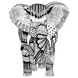 Elephant illustration Stock Images