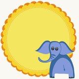 Elephant illustration Stock Photo