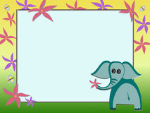 Elephant illustration Royalty Free Stock Photos