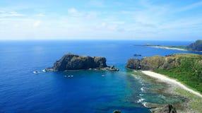 Elephant island. A sleeping elephant island in blue sea royalty free stock photos