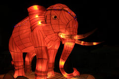 Elephant Lamp Royalty Free Stock Photos