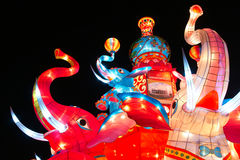 Elephant lantern Royalty Free Stock Photos