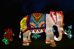 Elephant lantern Stock Photography