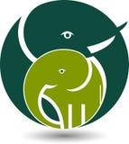 Elephant logo Stock Images
