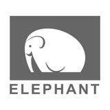 Elephant logo Royalty Free Stock Photos