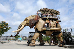 Elephant machine Stock Photography