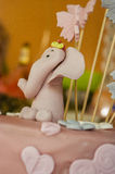 Elephant made of icing sugar Royalty Free Stock Photography