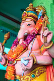 Elephant Man Sculpture In A Hindu Temple Royalty Free Stock Image