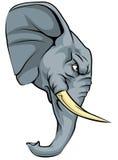 Elephant mascot character Royalty Free Stock Photos